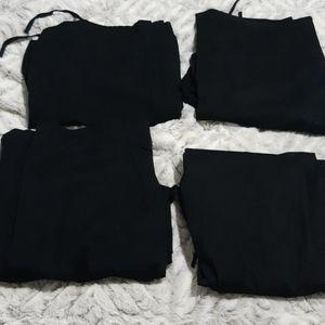 Lot of 4 Ladies Options International Scrub Pants